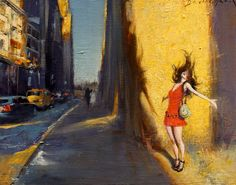 David FeBland, 1949   Expressionist Cityscape painter   Tutt'Art@   Pittura * Scultura * Poesia * Musica  