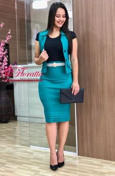 Business Professional Dress, Professional Dresses, Classy Work Outfits, Classy Dress, I Dress, Dress Outfits, Suits For Women, Clothes For Women, Ladies Suits