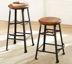 Enjoyable 13 Best Barstools Images Bar Stools Counter Stools Stool Theyellowbook Wood Chair Design Ideas Theyellowbookinfo