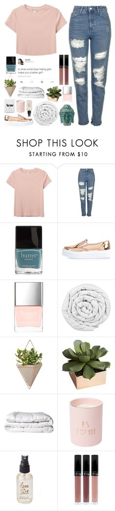 """""""i gotta keep myself free"""" by awakened-paradise ❤ liked on Polyvore featuring Monki, Topshop, Butter London, River Island, Brinkhaus, Umbra, CB2 and Olivine"""