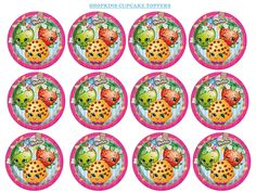 Best Source Of Creative Girlsu0027 Party Ideas :: Shopkins :: Shopkins Cupcake  Toppers Printable