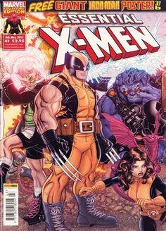 Essential X-men omslag
