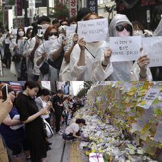 Quando uma mulher é agredida todas devem se levantar em sua defesa! Você acredita nesta ideia? E iria às ruas para protestar por uma desconhecida? É o que fizeram mulheres sul-coreanas. Centenas de pessoas saíram às ruas em Seul para protestar após a morte de uma mulher que foi esfaqueada aos 23 anos. O episódio provocou revolta no país em que muitas mulheres vivem com medo de serem atacadas. As manifestações já chegam ao quarto dia e vêm acompanhadas de outros atos simbólicos em memória da…