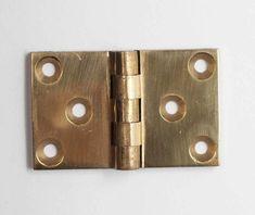 Brass 1 x 1 Butt Blank Cabinet Hinge