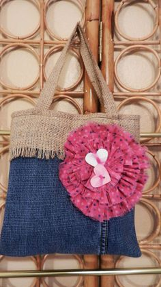 Jean Purse for Little Girl by HomeDamnMade on Etsy, $12.50