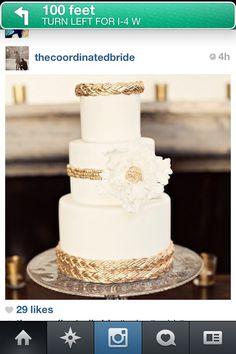 Gorgeous Greek Goddess Inspired Wedding Cake