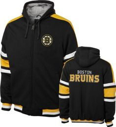 Boston Bruins Black Tailgate Transition Fleece Hooded Jacket by G-III Sports. $105.00. Show off your Bruins pride in a comfy way with this Boston Bruins Black Tailgate Transition Fleece Hooded Jacket. This Boston Bruins jacket from G-III Sports features embroidered graphics and contrast jersey lining. Proclaim yourself the ultimate fan with this piece of Bruins team gear.