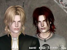 Hhgar hair for males and females by Ginko at Daisy Sims 3 - Sims 3 Finds