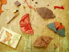 Sewing pattern / moth or butterfly PDF sewing от willowynn на Etsy