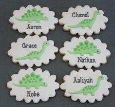 Dinosaur cookies by Miss Biscuit