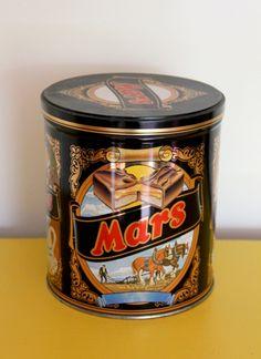 Mars blik met deksel.