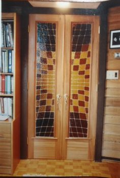 Victoria Door Tall Cabinet Storage, Stained Glass, Divider, Victoria, Doors, Furniture, Home Decor, Slab Doors, Homemade Home Decor