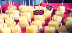 """""""For more formal occasions, the retro classic cheese and pineapple on a stick was crowned the nation's favourite canape."""""""