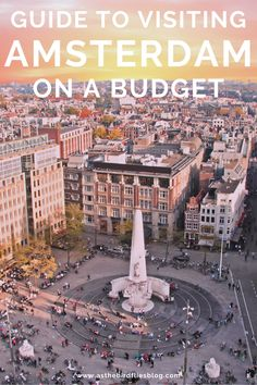 Amsterdam Travel on a Budget: Ultimate Guide to Visiting Amsterdam on a Budget - Written by a Budget Travel Expert. This guide to visiting Amsterdam on a budget will show you how you can enjoy the city without spending too much money by finding out the best budget hotels and hostels in Amsterdam, as well as other money-saving tips for budget travel in Amsterdam, including the best free things to do in Amsterdam and the best budget things to do in Amsterdam. Travel Europe Cheap, Travel Around Europe, Europe Travel Guide, Backpacking Europe, European Travel, Budget Travel, Travel Guides, Amsterdam Things To Do In, Visit Amsterdam