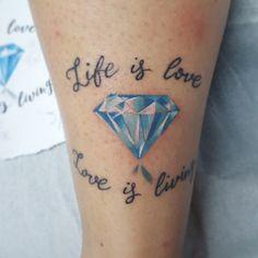Diamonds tattoo