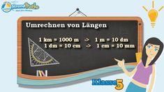 C Rechnen mit Größen    1 Umrechnen von Längen    Klasse 5 ★ Wissen