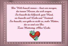 Muttertagsgedicht