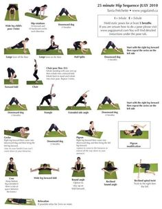 Yoga for Happy Hips - a MUST for runners, rowers, riders, anything that tightens your hip flexors!
