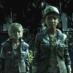 (screenshot by TheComicSunshine) Walking Dead Wallpaper, The Walking Dead Telltale, Walking Dead Series, Video Games, Ships, Anime, Scene, Dibujo, Videogames