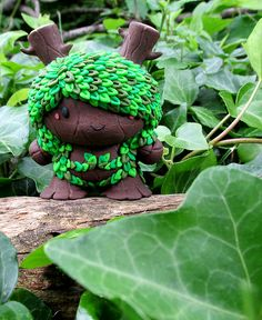 "Lady Leaf Custom 3"" Dunny"