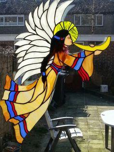Indianen Engel, mijn eerste engel gemaakt❤❤❤❤