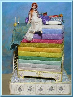 "daisyocarl: "" THE PRINCESS AND THE PEA By Av Cindi Cannon """