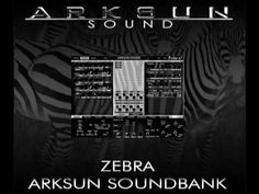 This is a video of the Arksun Zebra EDM Demo mp3 demonstrating some of the sounds from my Zebra soundbank (a collection of 128 presets/sounds to use with U-H...