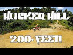 DUNN'S PLAYGROUND MX - 200FT HUCKER HILL JUMP - DRONE FOOTAGE - YouTube