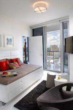 Awesome modern Miami condo design. #interior #home #architecture #design