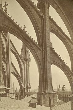 Séraphin Médéric Mieusement (French, 1840-1905), Reims Cathedral, ca. 1874-90. Albumen print. 15/5/3090.01436, Andrew Dickson White Architectural Photographs Collection. Division of Rare and Manuscript Collections, Cornell University Library