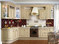 Kitchen design in COUNTRY style- its features and characteristics-8