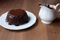 Steamed chocolate pudding. I have to try!