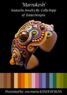 Eva Maria Keiser Designs: Colorway:  Csilla Papp