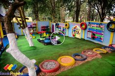 striking natural playground markanter Naturspielplatz This image has get 17 … Childrens Play Area Garden, Kids Outdoor Play, Outdoor Play Areas, Kids Play Area, Backyard For Kids, Diy For Kids, Outdoor Play Spaces, Indoor Play, Backyard Games