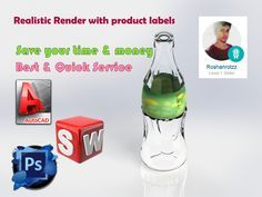 create realistic 3D render of your product