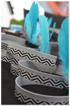 Indianergeburtstag Pow Wow im Hause PickPosh! Zum 6. Geburtstag von Kind 1.0 gab es eine Indianerparty mit allem Drum und Dran...