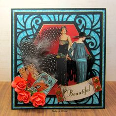Art Deco card