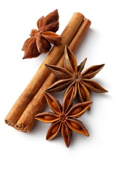Immagine royalty-free: Dried Herbs and Spices Cinnamon Anise