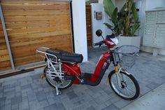 We love the red VEXA500 electric bike!
