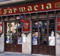 Farmacia Tanganelli-Sanchís, situada en la Rambla de Cataluña nº 117, es una de las mejor conservadas y que mejor representa al modernismo esplendoroso y pujante que tuvo lugar a principios de siglo en esta parte de la ciudad. Barcelona