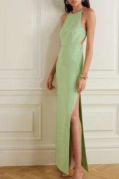 Miu Miu, Column Dress, Event Dresses, Dress Suits, Elegant Outfit, Satin Dresses, Classy Outfits, Pretty Dresses, Editorial Fashion