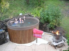Real Men Build Their Own Hot Tubs
