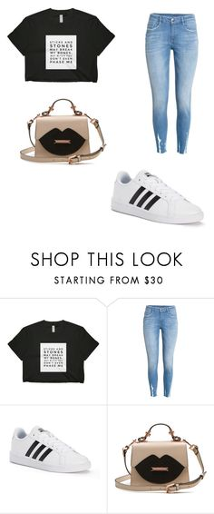 """""""Cute outfit for the park"""" by millermckenzie ❤ liked on Polyvore featuring adidas"""
