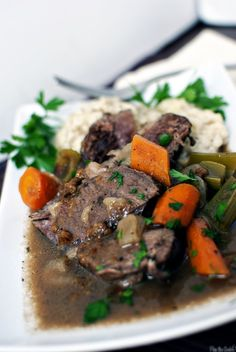 Sauerbraten with Spetzle