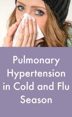 Pulmonary Hypertension in Cold and Flu Season #PulmonaryHypertensionNews