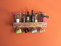 Küchenregal vintage ~ Details zu massivholz gewürzregal weiß gewürzhalter küchenregal