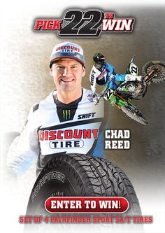 Chad Reed - Pick 22 to Win