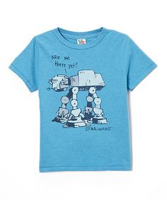 Look what I found on #zulily! Blue 'Are We There Yet' Tee - Boys #zulilyfinds