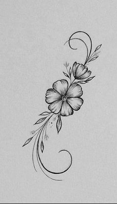 Dibujos De Flores Hawaianas - meetmelindadoolittle Through our work with older buildings like the Sala Beautiful Flower Drawings, Flower Art Drawing, Pencil Drawings Of Flowers, Flower Sketches, Pencil Art Drawings, Art Drawings Sketches, Drawing Style, Tattoo Sketches, Simple Flower Drawing
