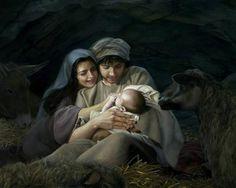 """""""Silent Night"""" is a piece of art by Liz Lemon Swindle. (Ruben Memmott, Foundation Arts)"""